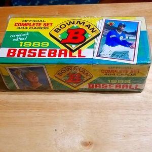 1989 Bowman baseball complete set, Griffy Jr. RC